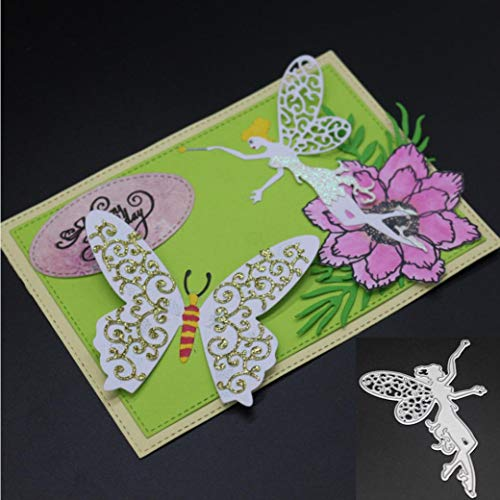 Metal Cutting Dies, Amiley Fairy Car DIY Cutting Dies Metal Floral Art Crafts Scrapbooking Tool Strip Die (Cross Cut Rabbit Strips)
