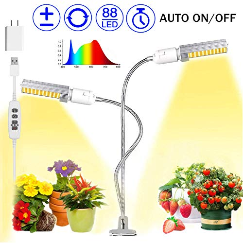 Rotating Led Grow Lights in US - 3