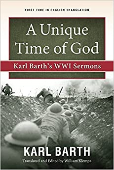 Image result for karl barth world war I sermons