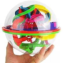 Perplexus Epic, Flingdress 100 Barriers 3D Labyrinth Magic Intellect Ball Balance Maze Perplexus Puzzle Toy
