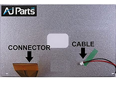 7 pulgadas LCD de ordenador portátil Protector de pantalla para Asus Eee PC Surf 4 G A070VW04 V0 nuevo: Amazon.es: Electrónica