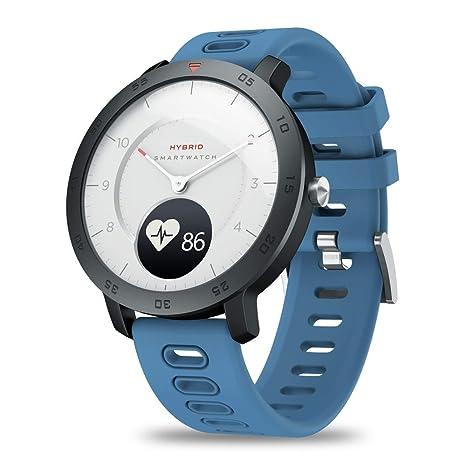 Amazon.com: yongy Zeblaze Hybrid Smart Watch for Men/Women ...