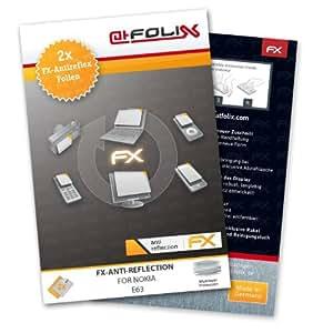 atFoliX FX-Antireflex, Nokia E63 - Protector de pantalla (Nokia E63, Anti-glare, Nokia E63, Teléfono móvil/smartphone, Nokia)