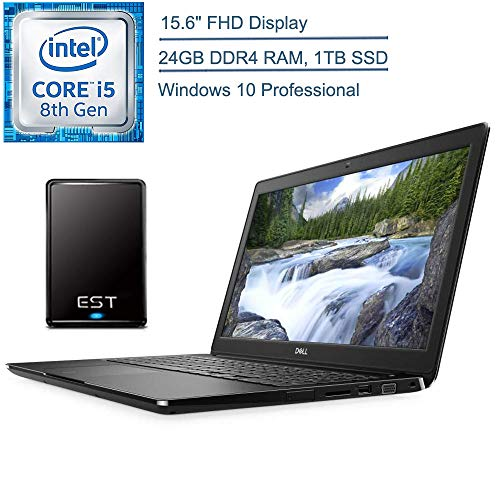 2020 Dell Inspiron 15 15.6″ Touchscreen Laptop Computer, 10th Gen Intel Quad-Core i7 1065G7 up to 3.9GHz, 16GB DDR4 RAM, 512GB PCIe SSD, Remote Work, AC WiFi, Black, Windows 10 Home, iPuzzle Mousepad