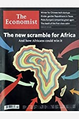 The Ecoomist 9 - 15 March 2019 Issue The New Scramble for Africa Special Magazine Paperback