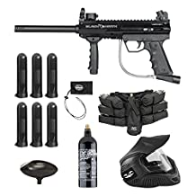Valken 87053 Tactical Blackhawk Paintball Gun Package