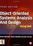 img - for Object-oriented Systems Analysis and Design Using UML by Dr. Simon J. Bennett (2005-08-01) book / textbook / text book