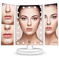 Bestope Makeup Vanity Mirror with 3x/2x...