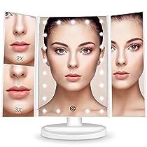 BESTOPE Makeup Mirror 3X 2X