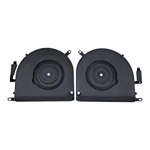 HKCB Cooling Fan Left and Right Set for MacBook Pro 15inch A1398 2013 2014 2015 Series