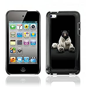 Super Stellar Slim PC Hard Case Cover Skin Armor Shell Portection // V0000777 Bear Animal Pattern // Apple Ipod Touch 4 4G 4th