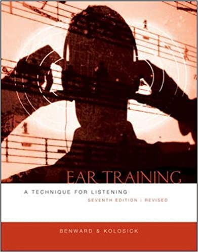 Ear training a technique for listening revised edition bruce ear training a technique for listening revised edition 7th edition fandeluxe Images