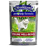 The Missing Link Pet Kelp Formula - Feline Well-Being - Limited Ingredient Superfood Supplement for Cats 6 oz.