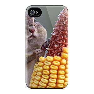 VariousItem Snap On Hard Case Cover Chipmunk With Corn Protector For Iphone 4/4s