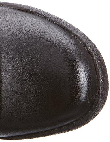 Camel Active Tokyo Botas para Mujer Negro (Cuero Negro)