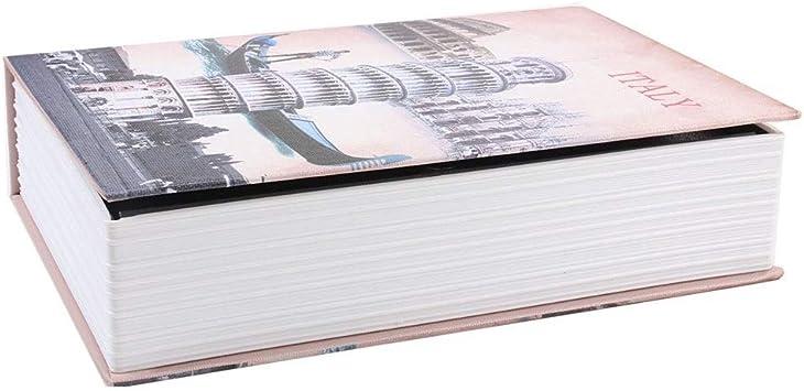 Transfiera la Caja de Llaves Oculta Segura gxfxq Segura for Libros con Espacio for Transportar y Ocultar Cosas Importantes Que se Pueden Ocultar Cuando se coloca un Libro en Cualquier Lugar: Amazon.es: