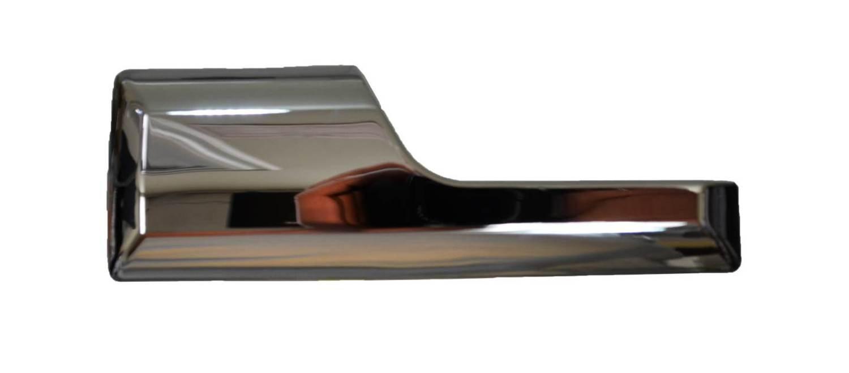 Driver Side Interior Inner Inside Door Handle PT Auto Warehouse GM-2320M-LH Chrome Lever