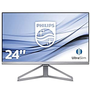 PHILIPS 245C7QJSB 23.8″ LCD Monitor with LED Backlight with VGA Port, HDMI Port, Display Port
