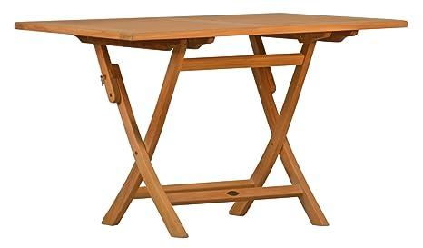 Table pliante en teck de la série Premium \