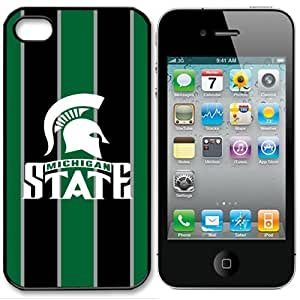 NCAA Michigan State Spartans Iphone 4 and 4s Case Cover