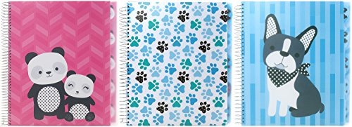5 Subject Notebook Tabbed Dividers - Studio C 5-Subject Notebook 11