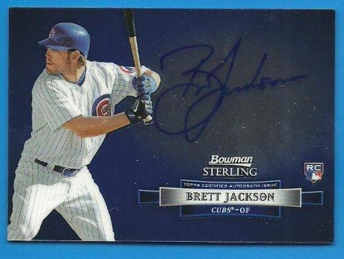 BRETT JACKSON 2012 Bowman Sterling Rookie Revelation Autograph Card # BSAR-BJ - Pack Fresh - Cubs (Pack Revelation)