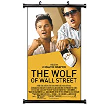 "The Wolf of Wall Street Movie Fabric Wall Scroll Poster (16"" x 28"") Inches"