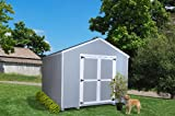 Little Cottage Company Value Gable Shed 8'x10' Precut Shed Kit