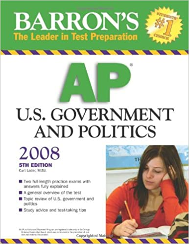 Barrons ap us government and politics curt lader 9780764138201 barrons ap us government and politics 5th edition fandeluxe Images