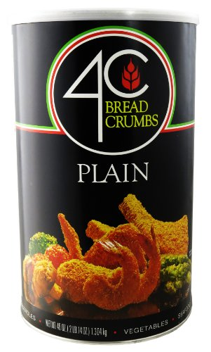 Plain Bread Crumbs - 4C 46 Oz. Plain Bread Crumbs