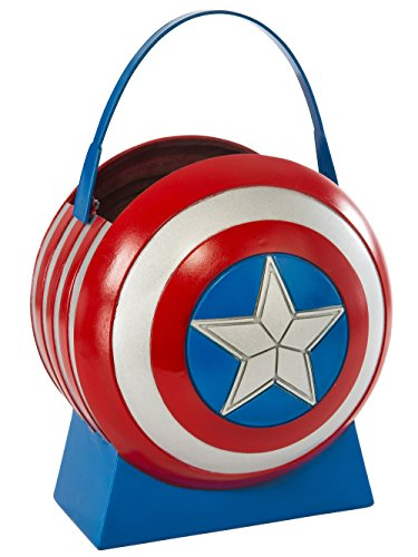 Captain America Shield Halloween (Avengers 2 Age of Ultron Captain America Collapsible Shield Pail)