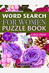 Word Search for Women Puzzle Book (Large Print): Book 2 Paperback