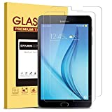 [2 Pack] Galaxy Tab E 9.6 Screen Protector, SPARIN Ultra Clear High Definition Tempered Glass Screen Protector for Samsung Galaxy Tab E (9.6 Inch, 2015 Version)