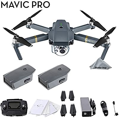 Mavic Pro with Extra Battery Parent from DJI