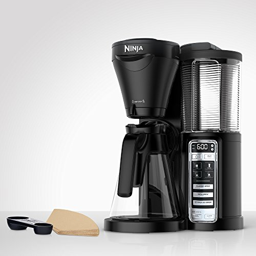 Ninja Coffee Brewer with Auto-iQ One-Touch Intelligence and Thermal Flavor Extraction Technology