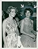 Vintage photo of Tina Onassis Niarchos and her sister eugenie niarchos.