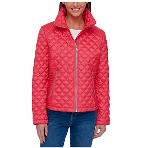- Marc New York Ladies' Quilted Jacket (Pink, L)