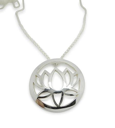 Yoga joyas por Sally Andrews grande único Lotus Colgante ...