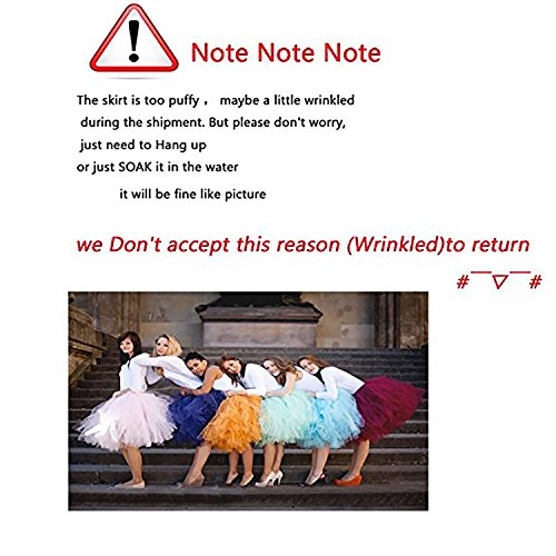 Party Train Adult Puffy Long Tutu Tulle Skirt 100cm Floor Length Women Wedding Skirts by Party Train (Image #7)