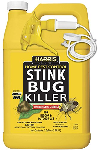 HARRIS Stink Bug Killer, Liquid Spray with Odorless and Non-Staining Formula (Gallon) (Bug Stink Long)