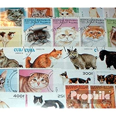 Motives 150 Different Cats Stamps (Stamps for Collectors) Cats: Toys & Games