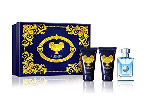 Versace Pour Homme Men s 3 Piece Gift Set