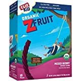 Clif Kid Twisted Fruit Rope, Mixed Berry, 0.7-Ounce Bars, 18 Count