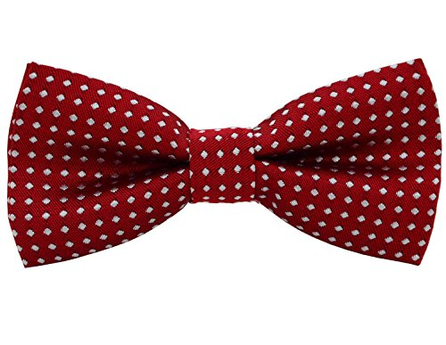Heypet Colorful Polka Dots Bow Tie,adjustable Bowtie Fashion Accessories for Pet Dog Cat DLJ15 (01)