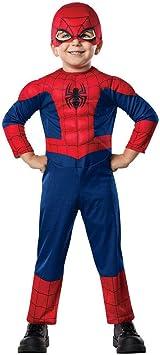 Horror-Shop Spiderman niños pequeños traje muscular Toddler ...