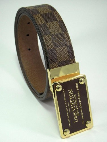 damier-ebene-inventeur-belt-reversible-brown-gold-plate-buckle-36-40-inches