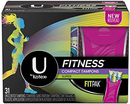 Tampons: U By Kotex Fitness