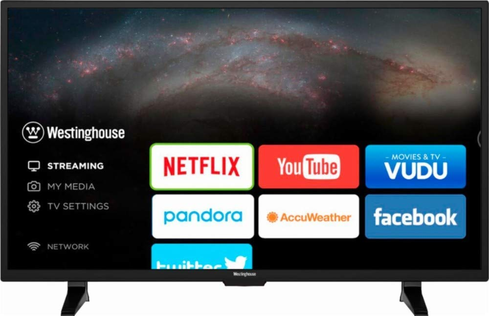 Westinghouse - 39in Class - LED - 720p - Smart - HDTV WD39HB2108 (Renewed)