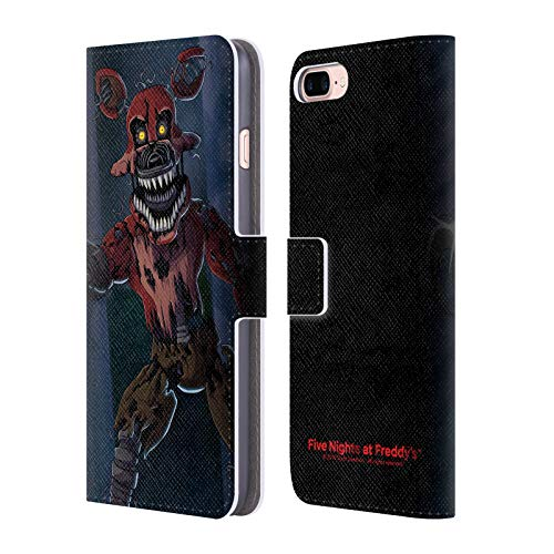 - Official Five Nights at Freddy's Phantom Foxy Game 3 Leather Book Wallet Case Cover for iPhone 7 Plus/iPhone 8 Plus