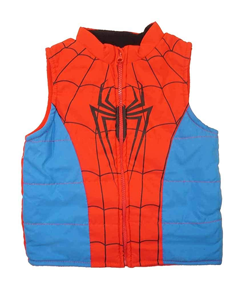 Marvel Little Boys Spider-Man 2-Piece Vest /& Pant Set